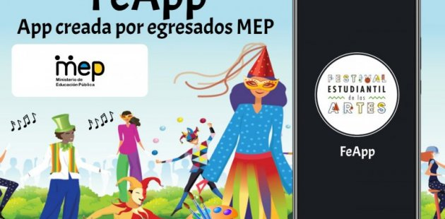 Cartel sobre App creadas por estudiantes